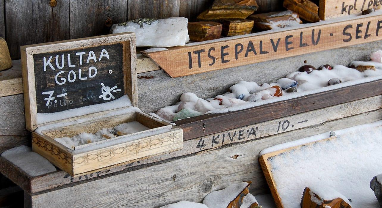 finland lapland gold souveniers