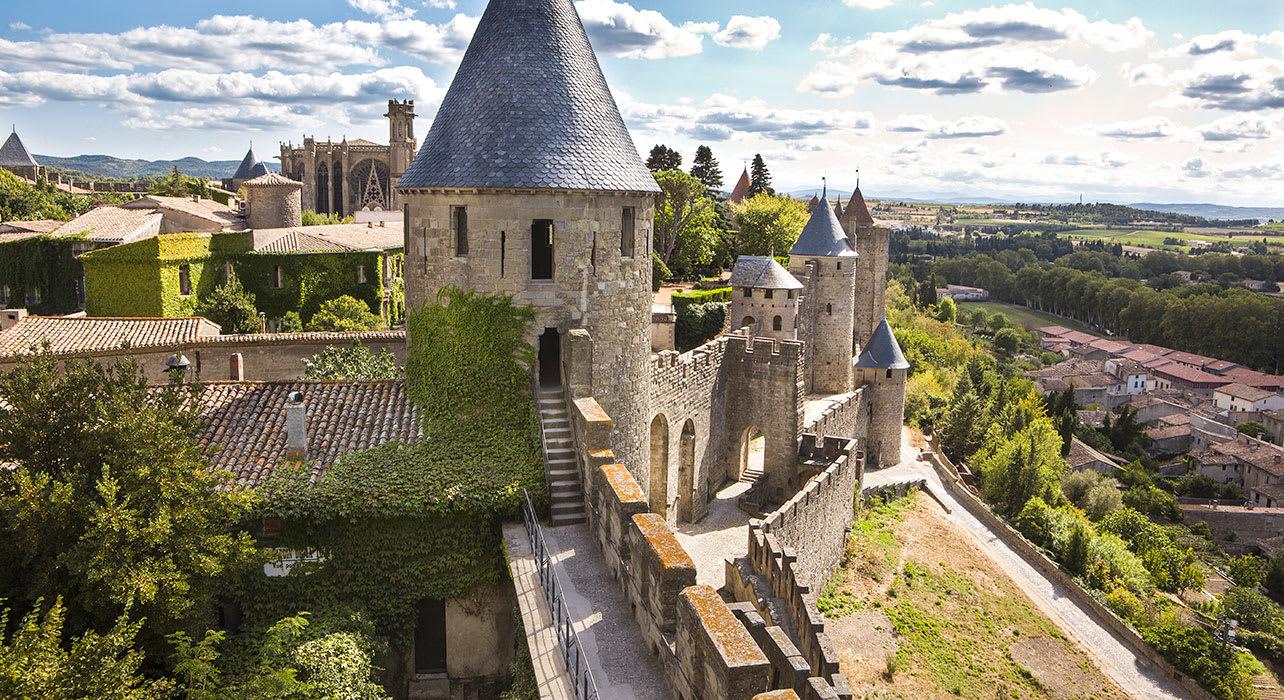 france castle carcassonne