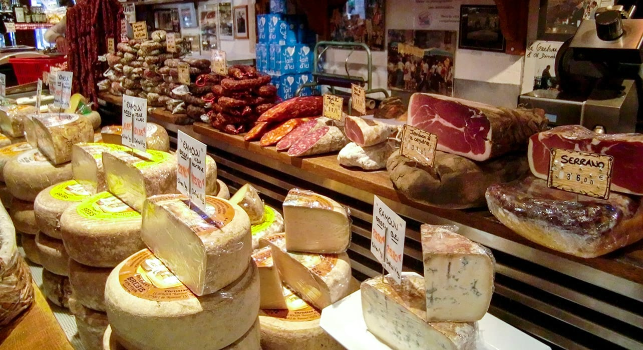 french pyrenees cheese meet shop france