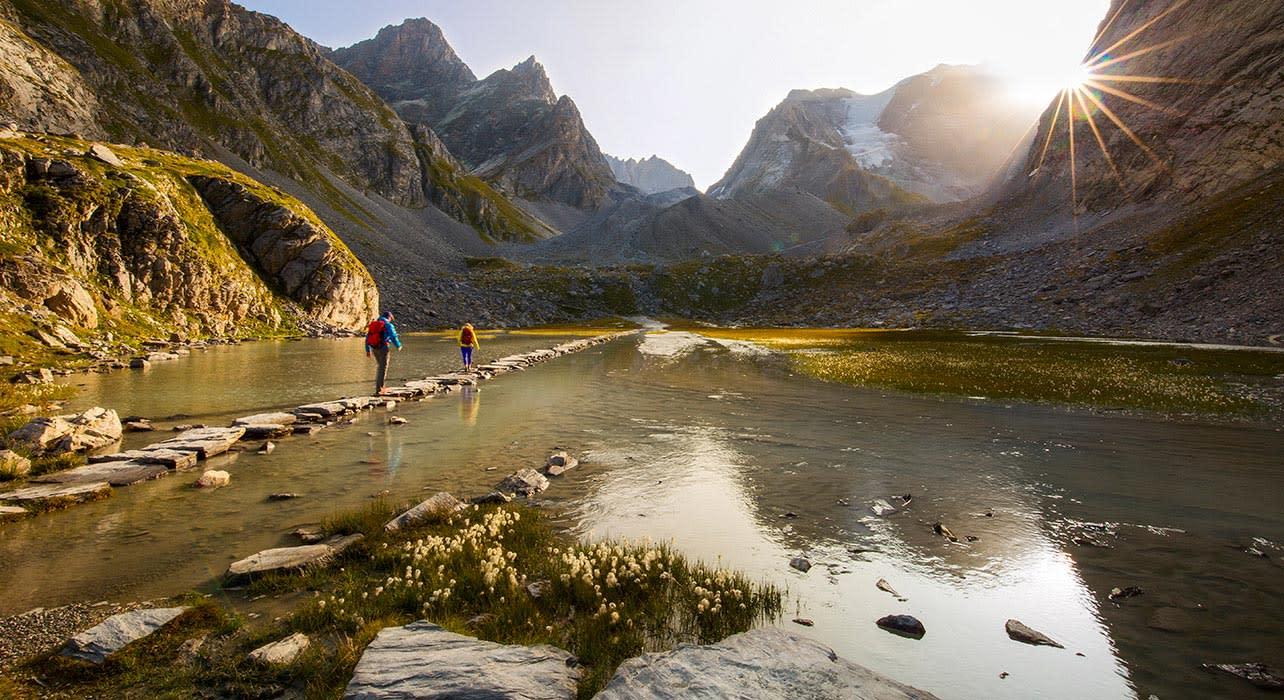 french alps vanois natl park lac du vaches
