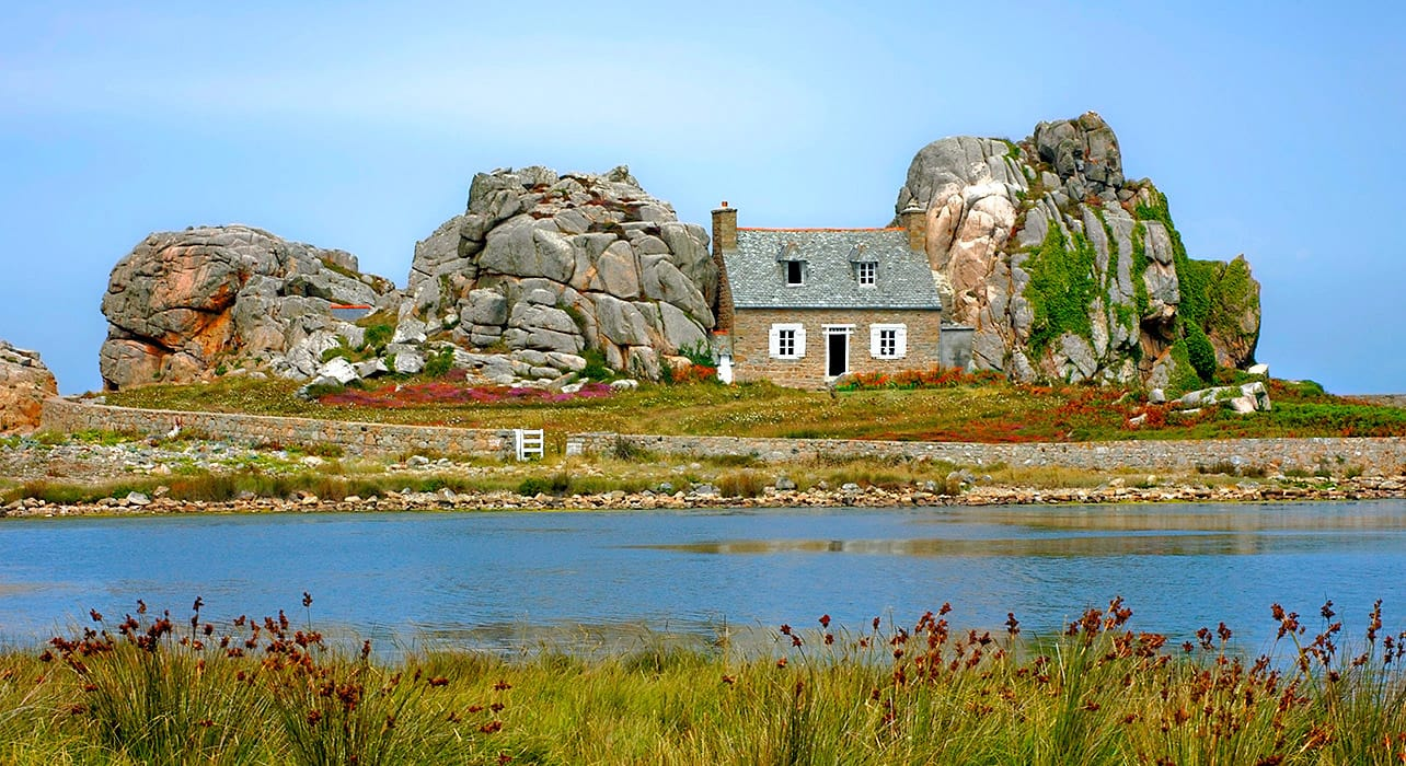 normandy cottage rock