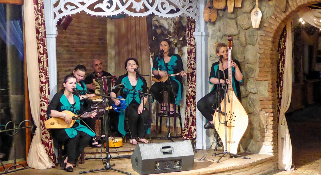 musicians georgia caucasus