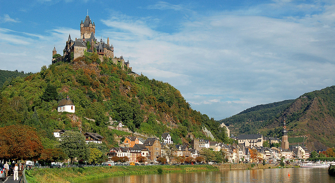 6 slide rhine valley castle pano