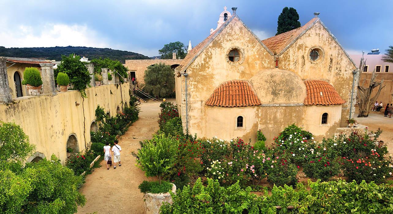 greece arkadi monastery crete