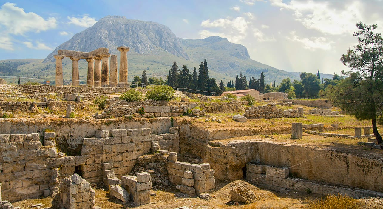 greece corinth ruins