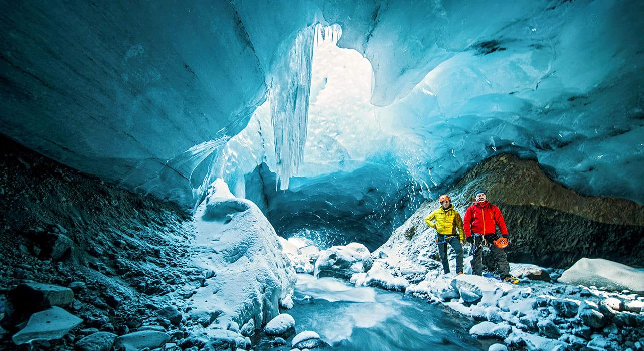 gigjokull thorsmork iceland
