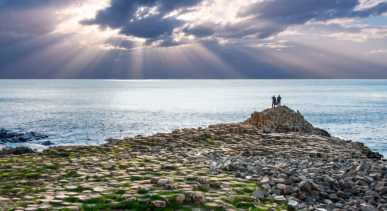 ireland antrim giants causeway