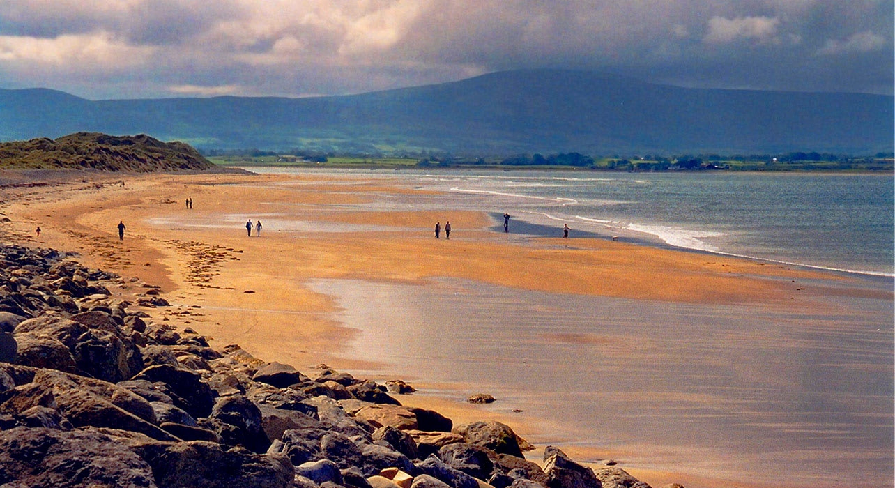 ireland north beach coastline