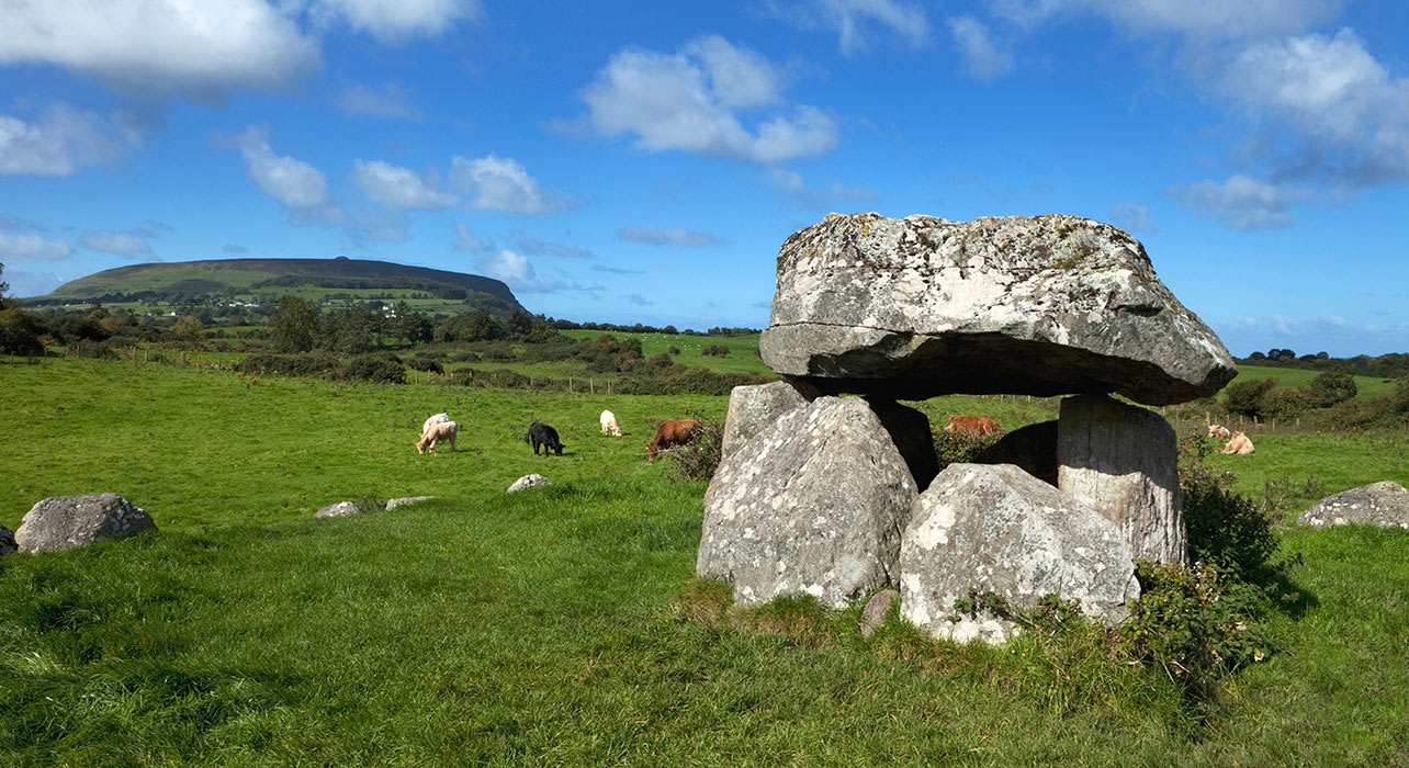 ireland tomb megalithic cemetery stone circle