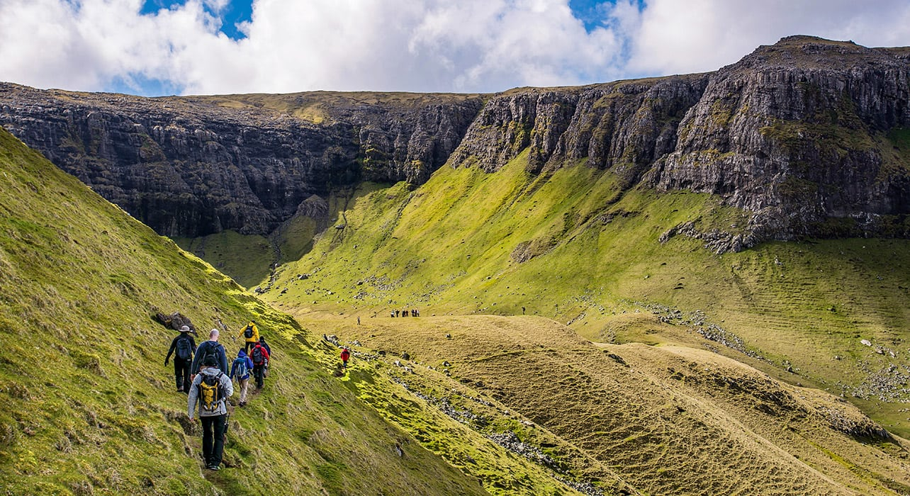 dublin to reykjavik faroe islands hike