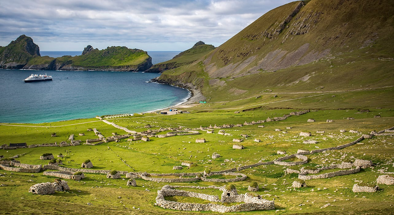 dublin to reykjavik st kilda scotland ruins
