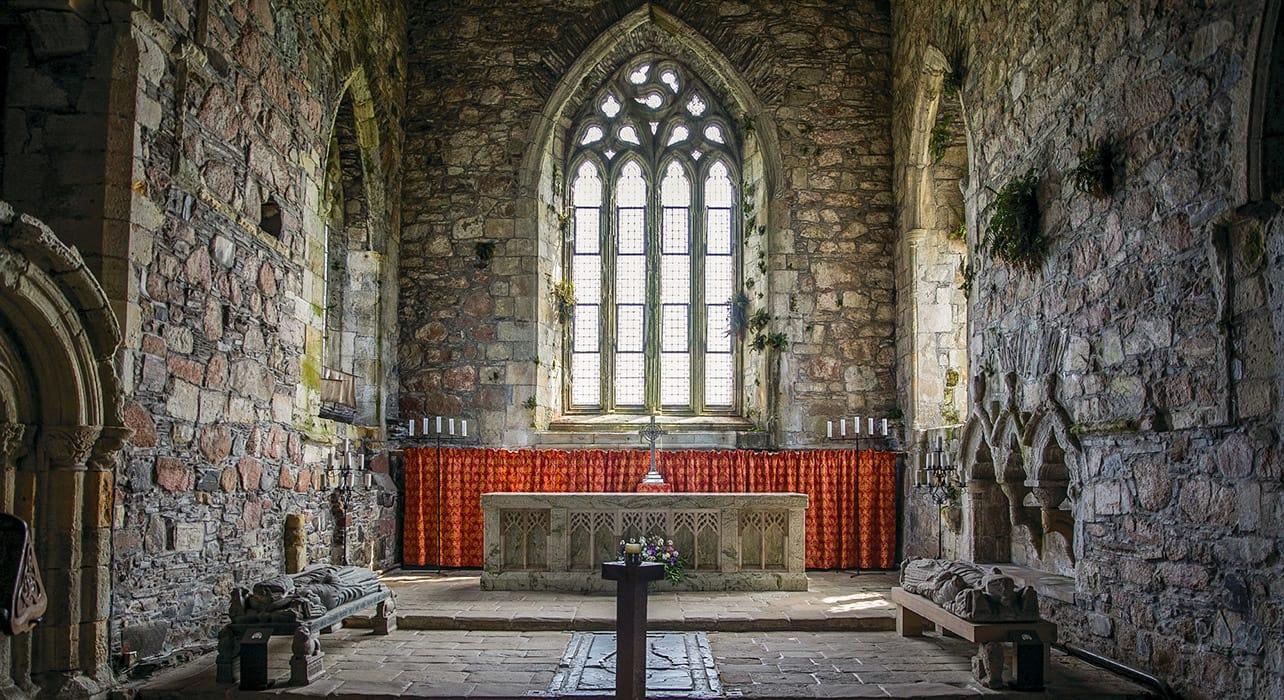 dublin to reykjavik iona abbey interior