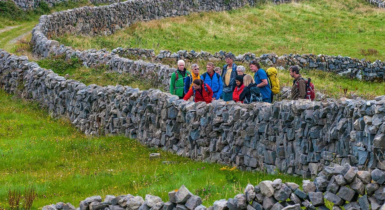 ireland brian mcgilloway inishmore stone walls