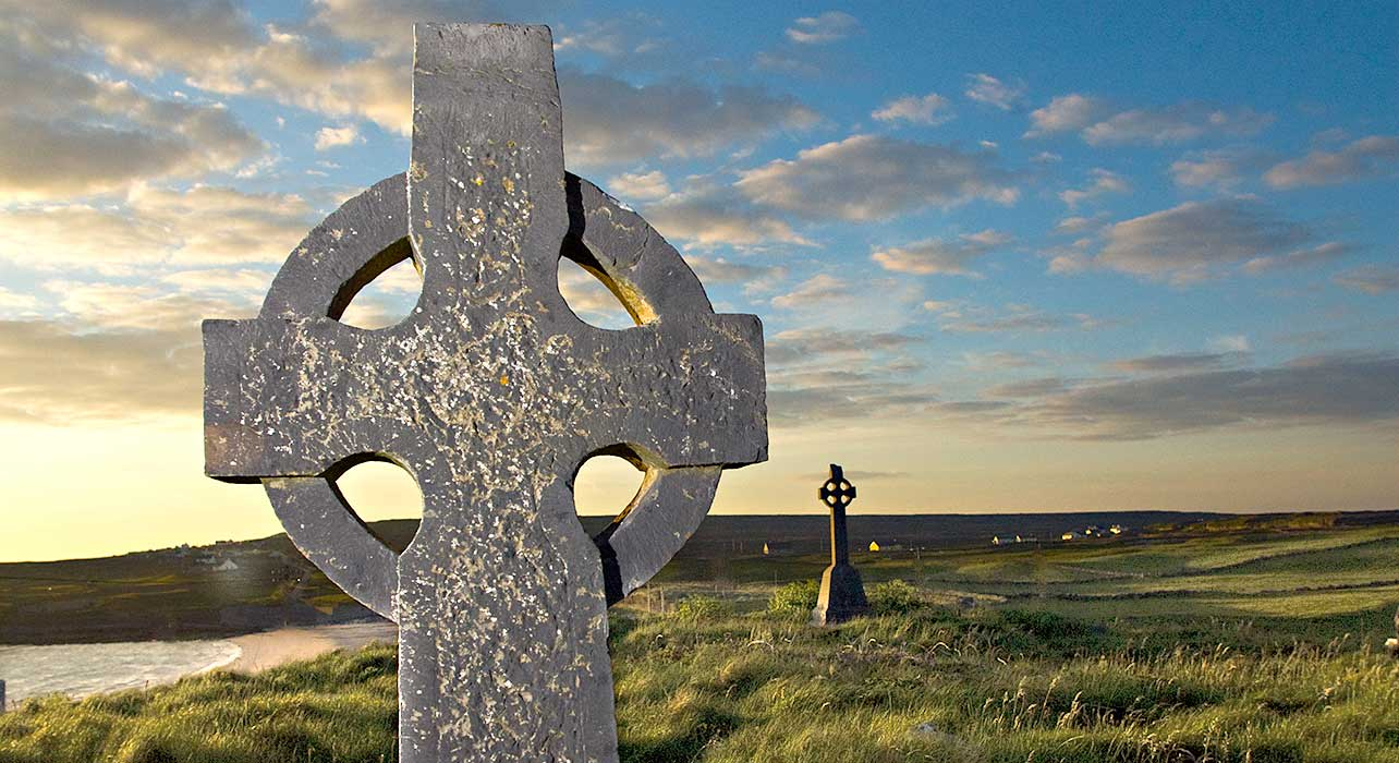 celtic cross brian mcgilloway ireland inishmore
