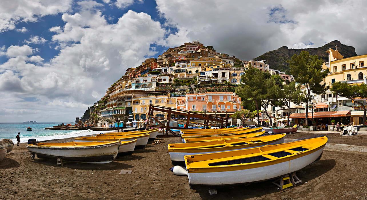 italy amalfi coast boats