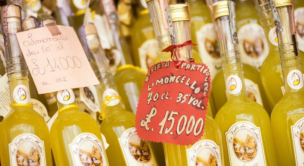 limoncello naples italy