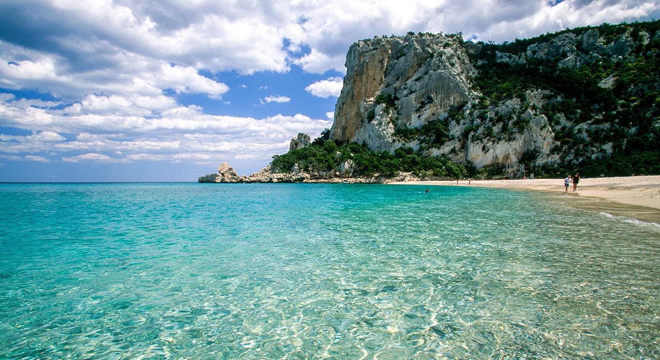 sardinia blue ocean water