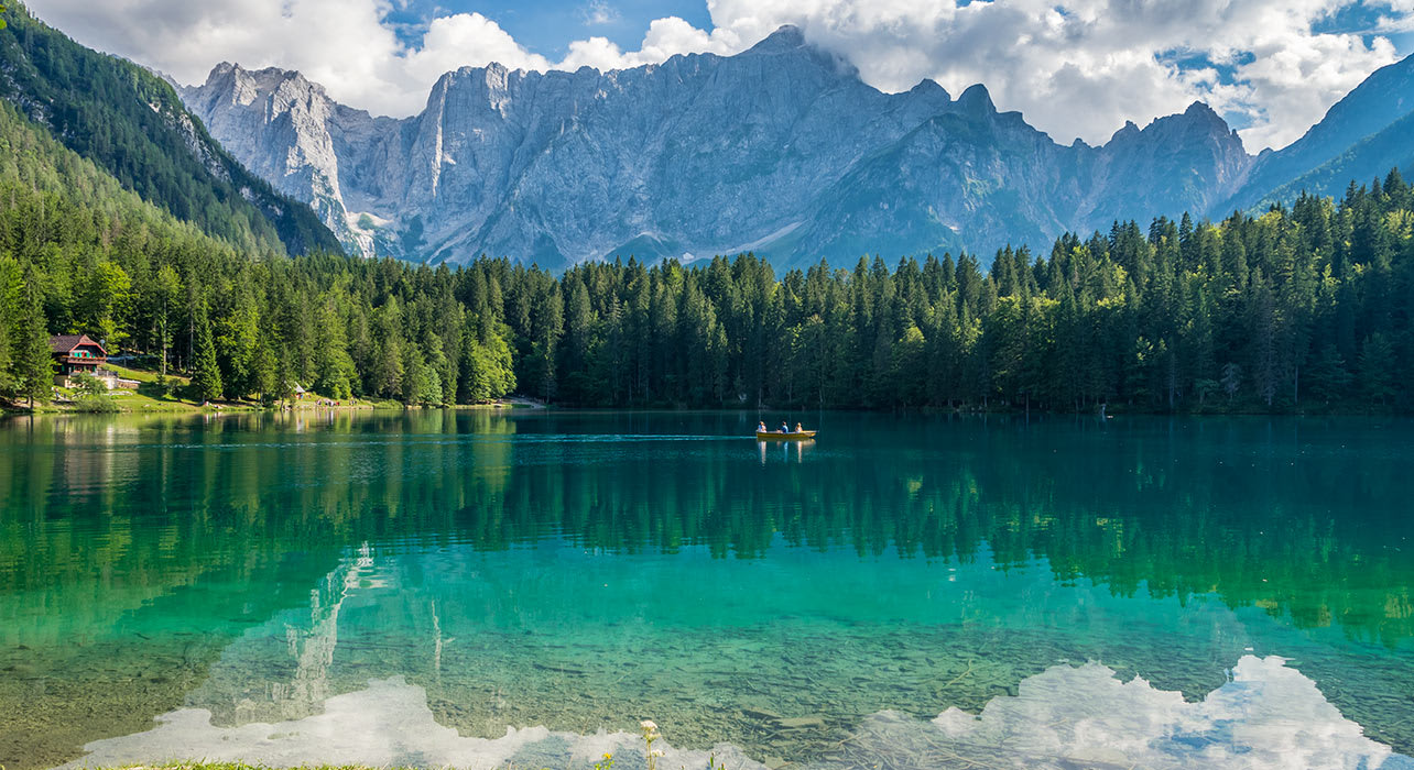 italy tarvisio lake