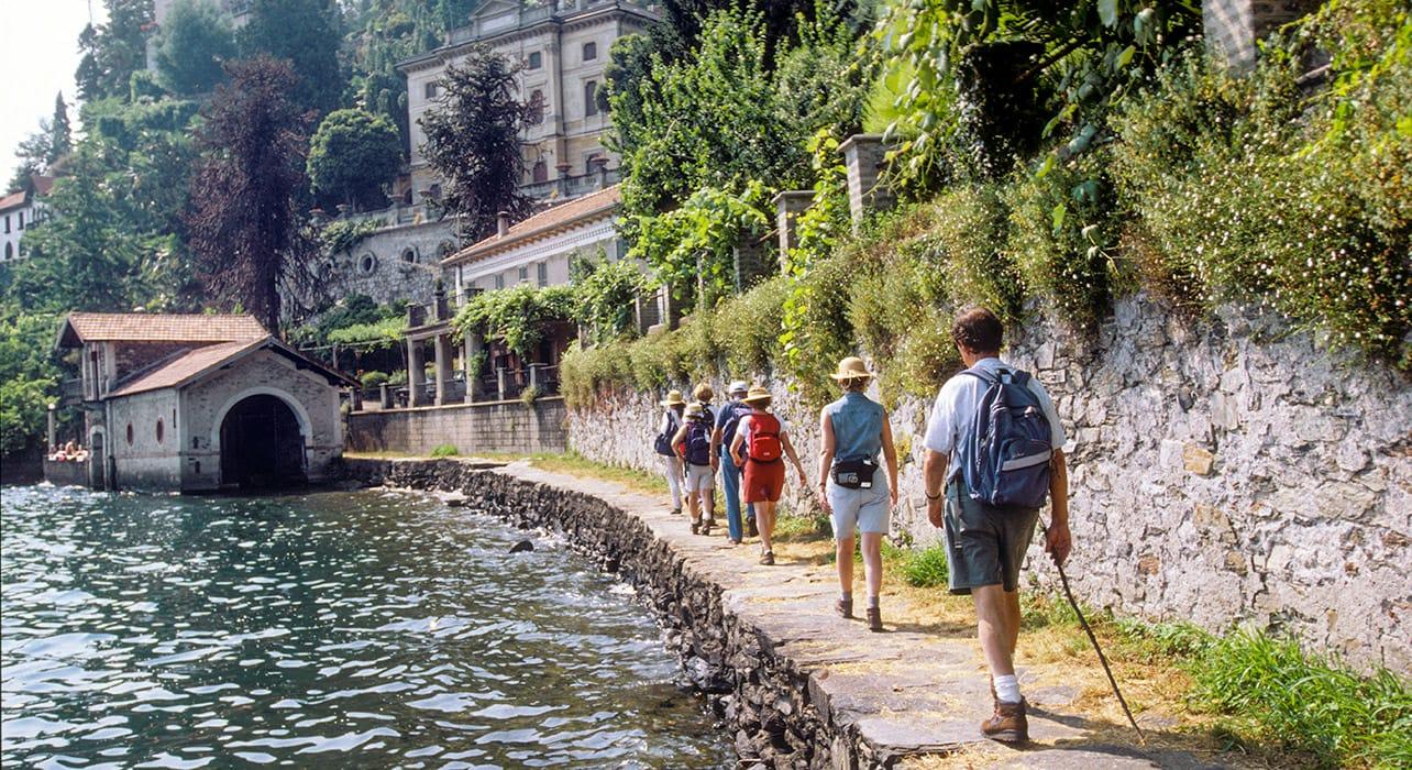italian lakes hikers