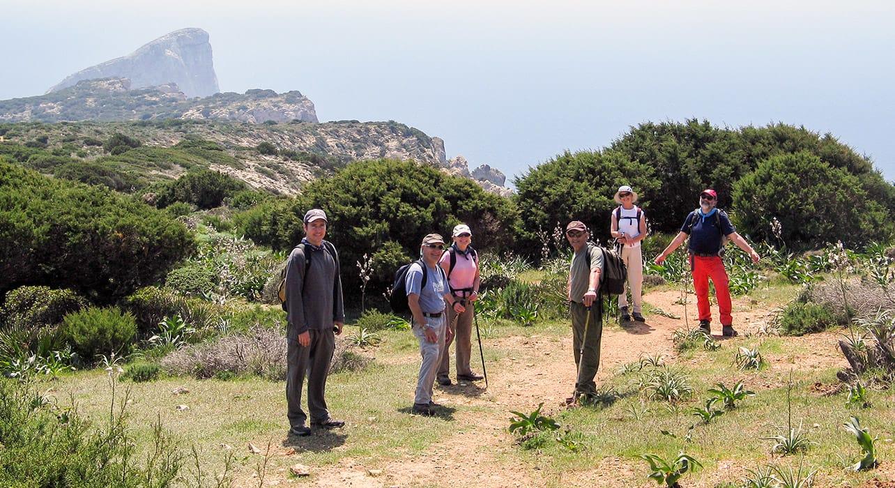 corsica sardinia hikers