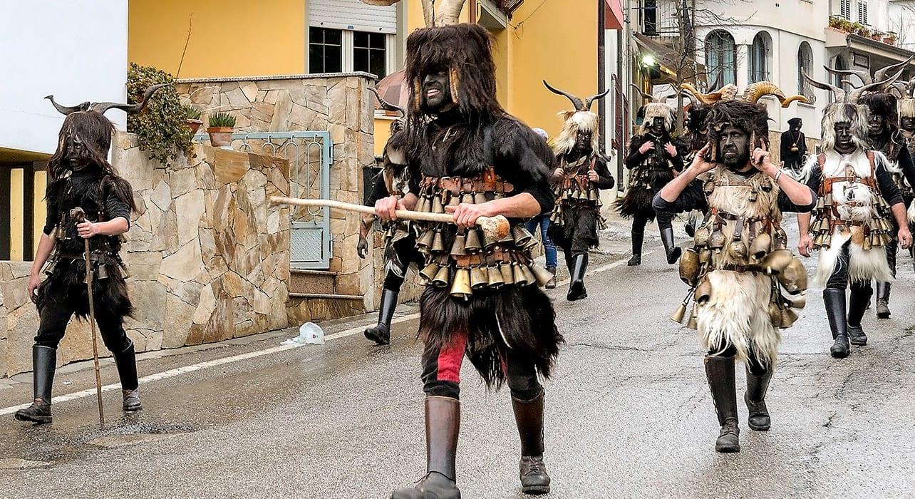 italy sardinia pagan festival orani traditional costumes