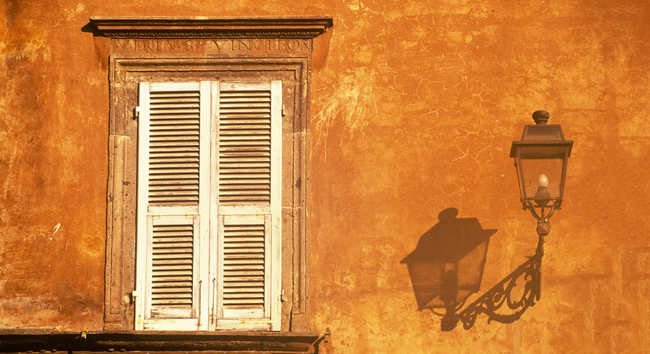 tuscany window light detail shadow