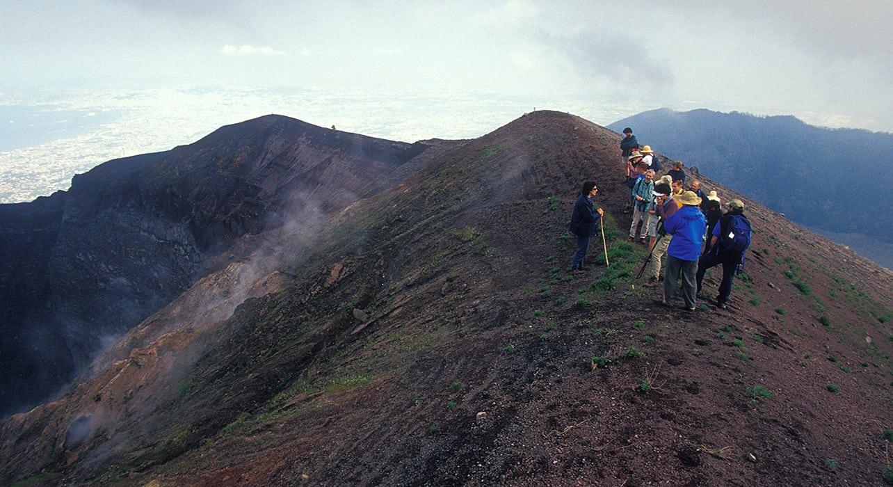 italy sicily mount etna volcanoe summit