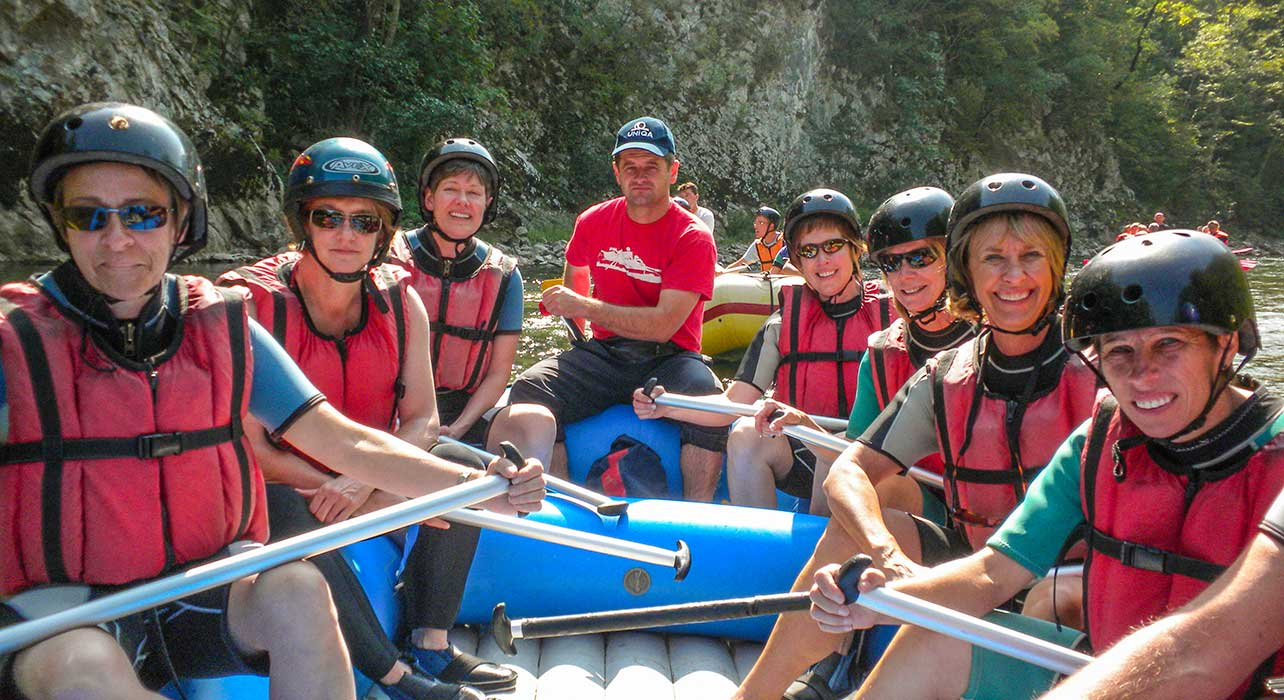 montenegro rafting on tara river