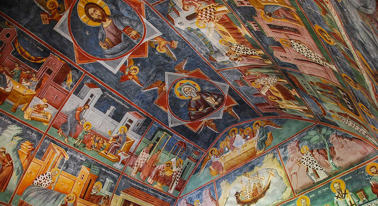 montenegro fresco church traditional
