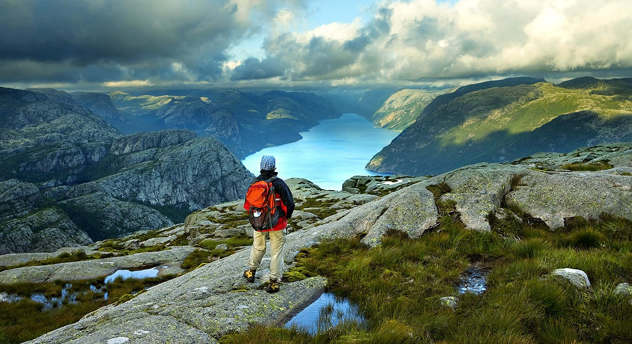 norway fjord trek vista