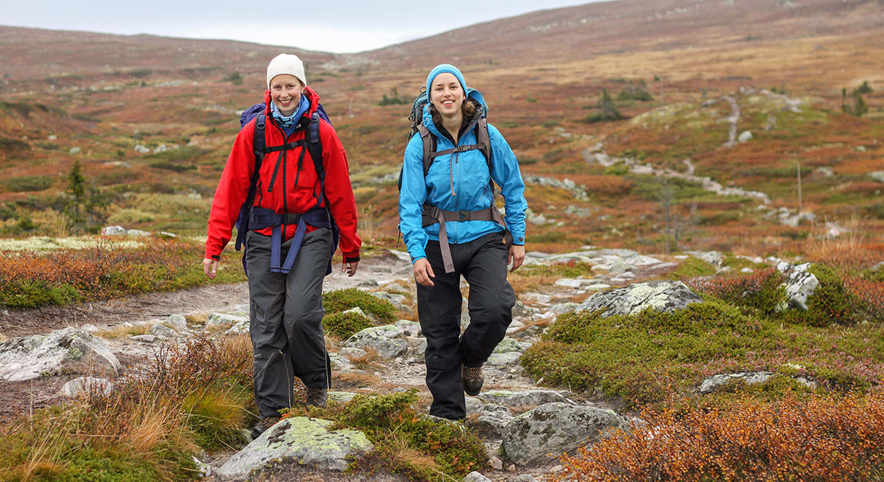 norway women hiking