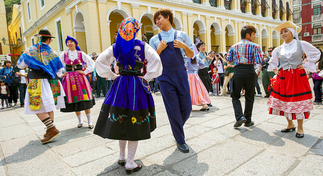 portugal traditional dance costumes