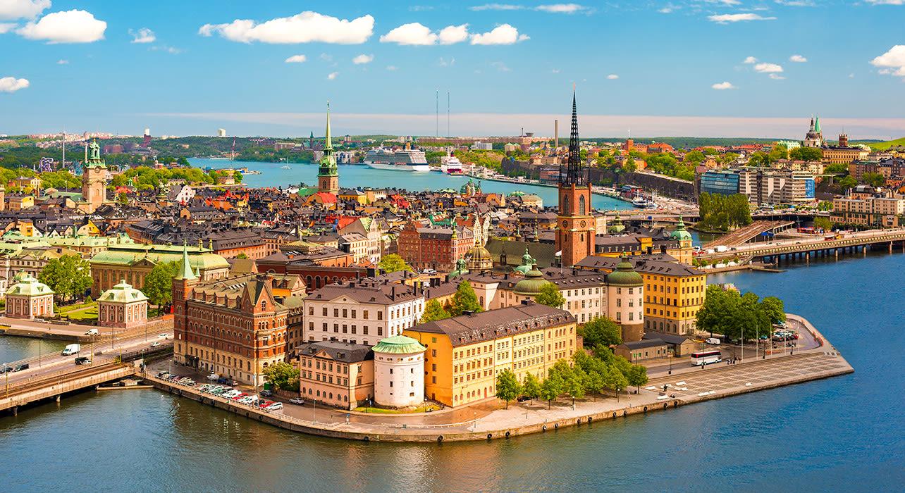 stockholm skylines harbor