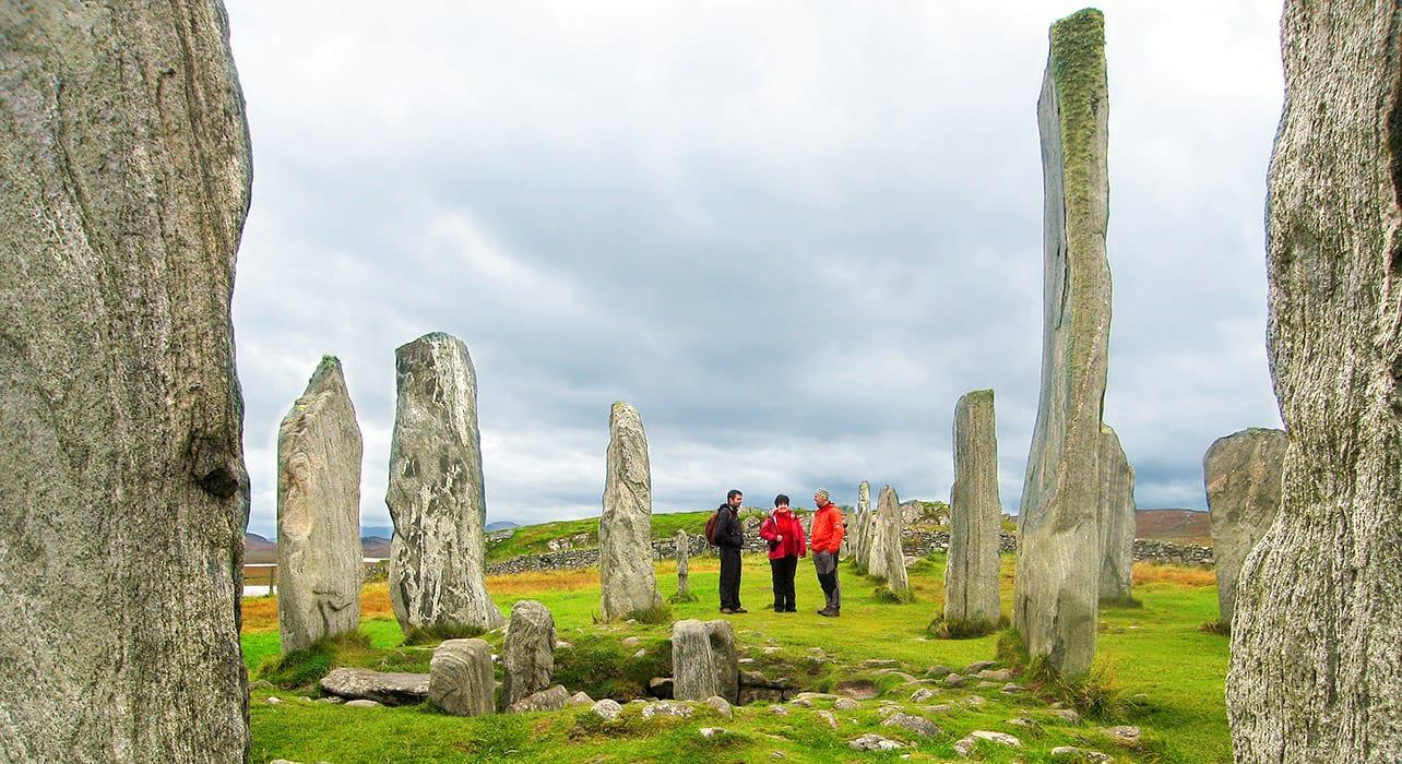 scotland standing stones ruins