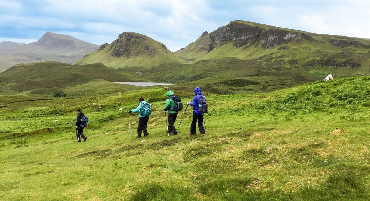 scotland highlands hikingj