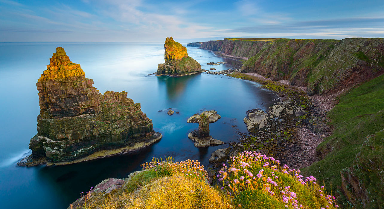 scotland duncansby stacks