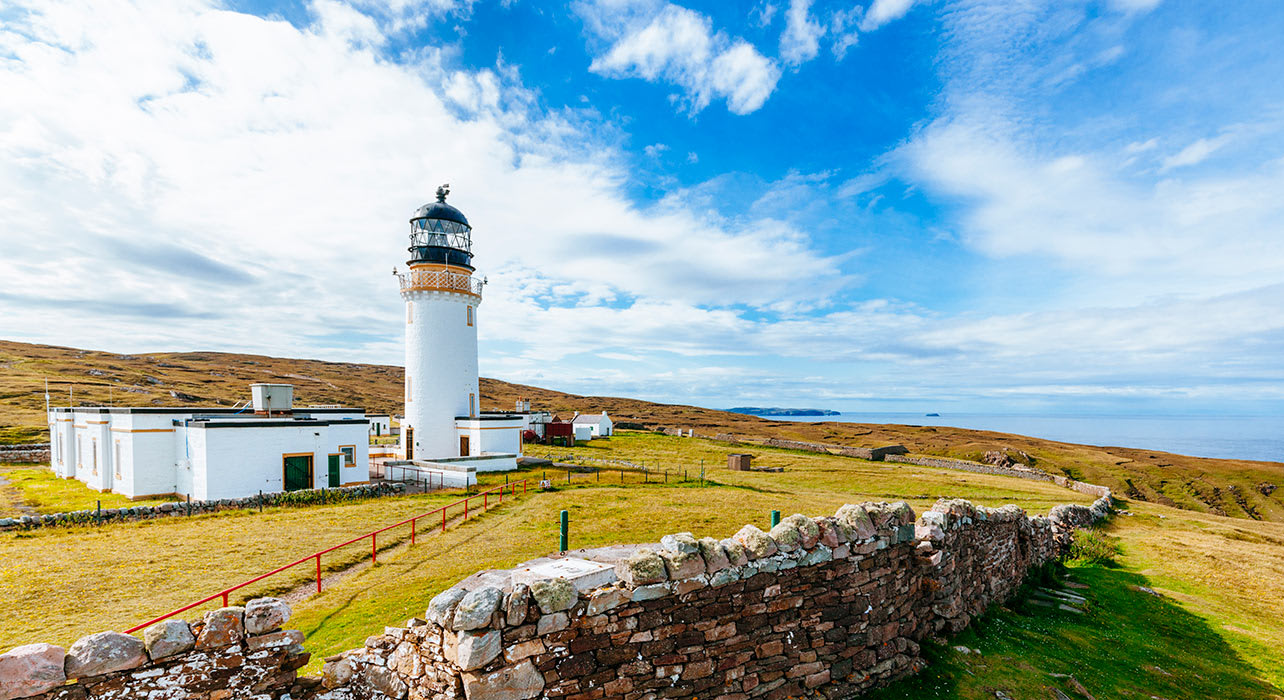 cape wrath lighthouse orkney scotland