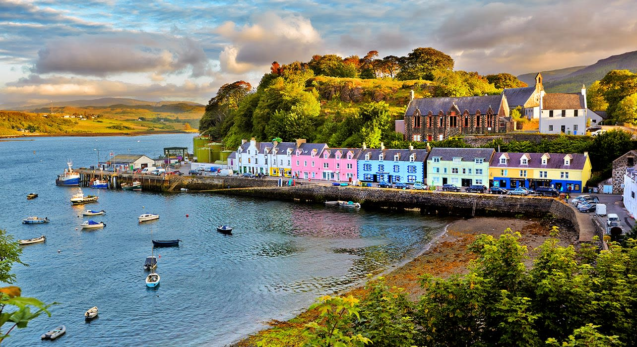 portree isle of skye harbor