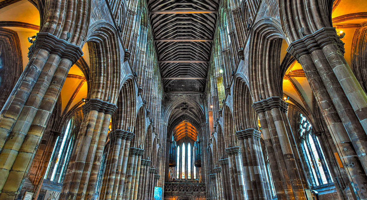 scotland glasgow cathedral mungo