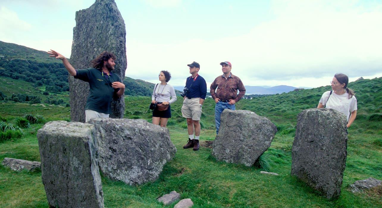 ireland archeology tourism