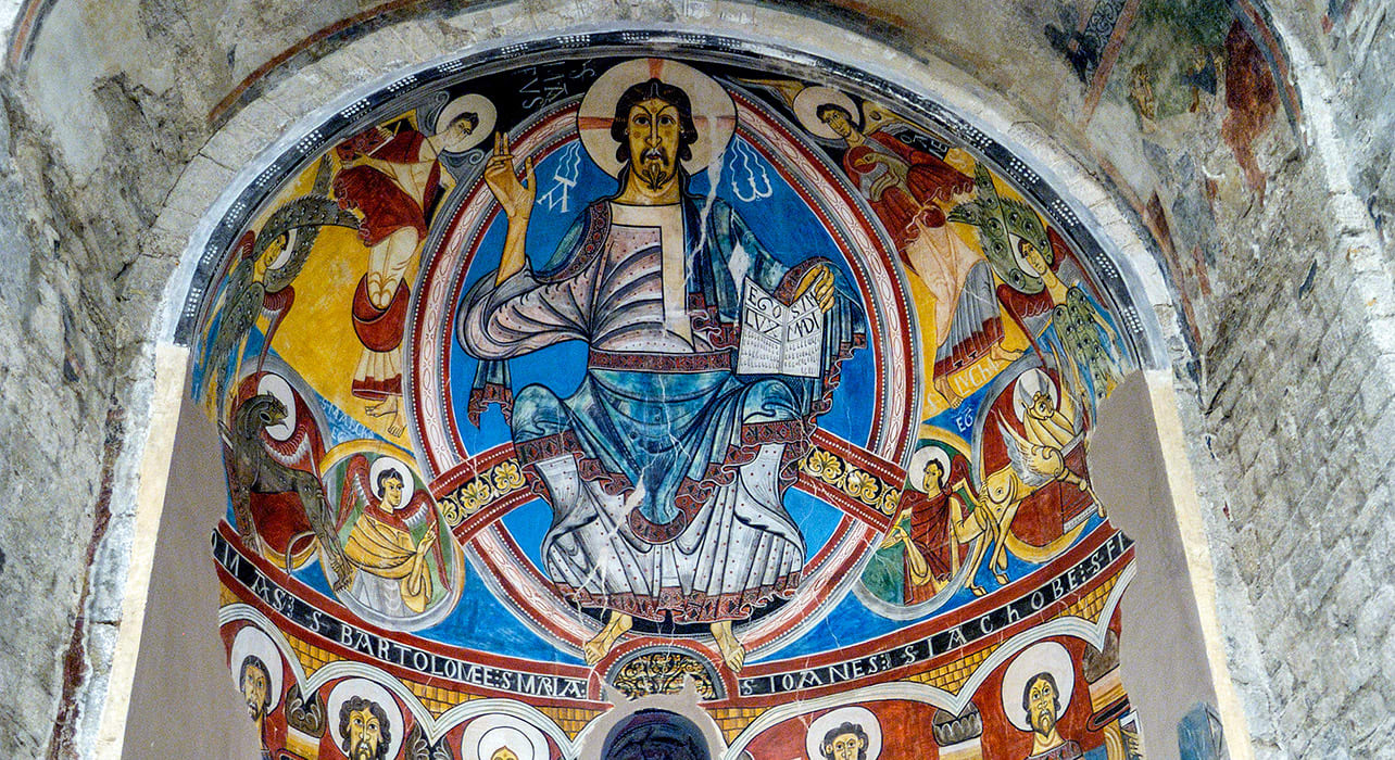spain pyrenees taull church frescoes