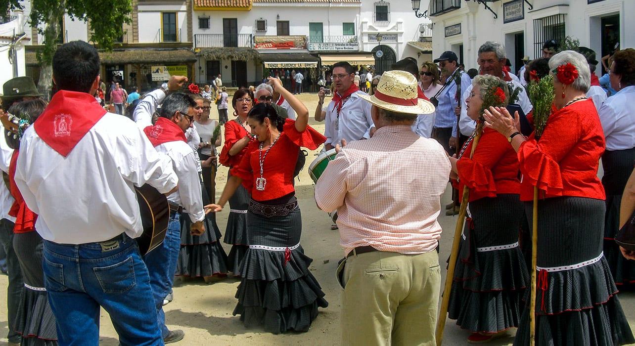 granada to sevilla dancers traditional