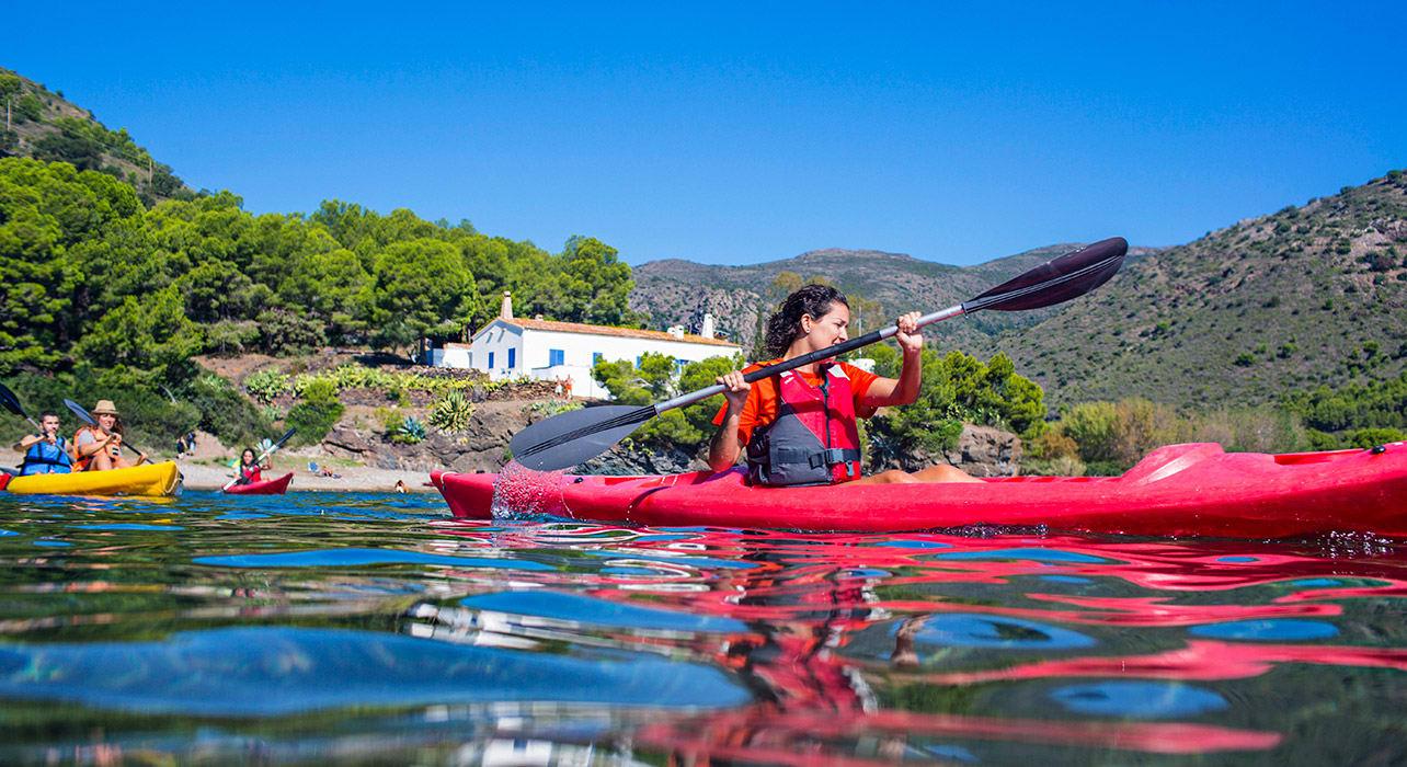 spain kayaking costa brava coastline