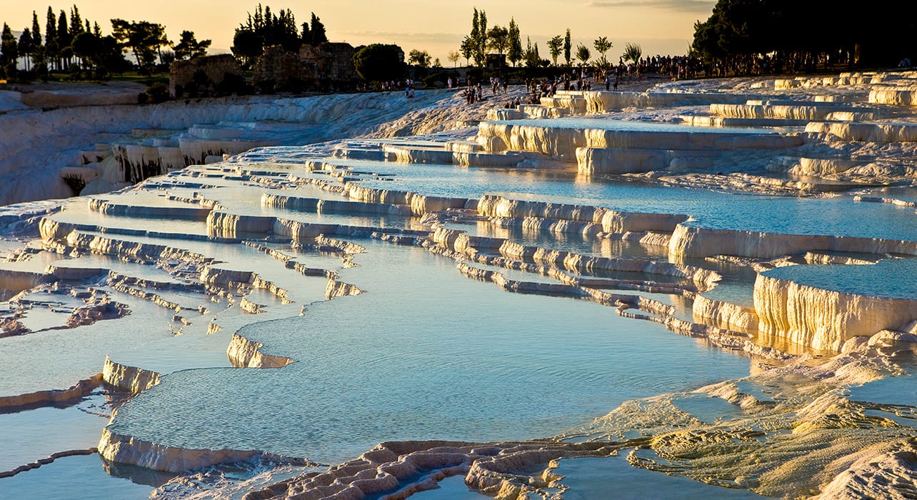 turkey denizli pumukkale mineral pools