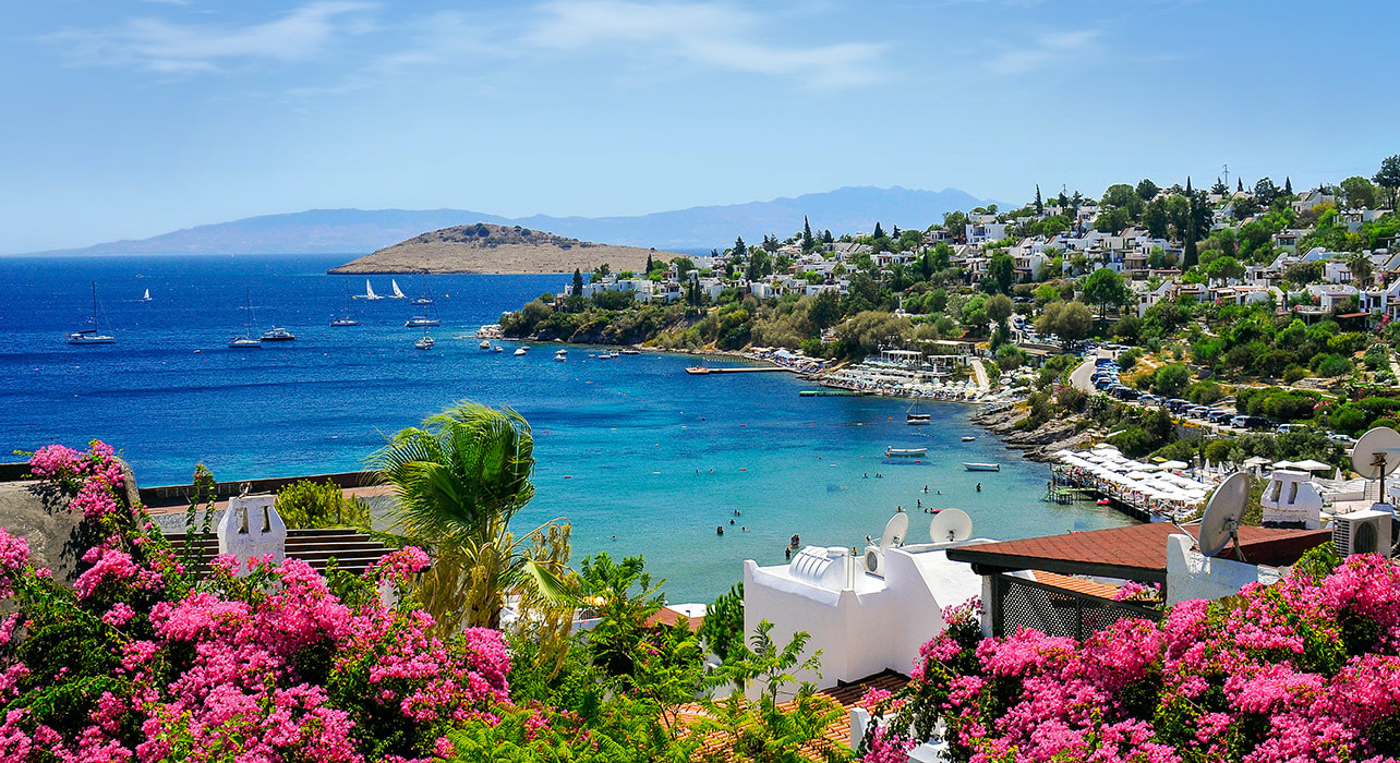 turkey bodrum coast