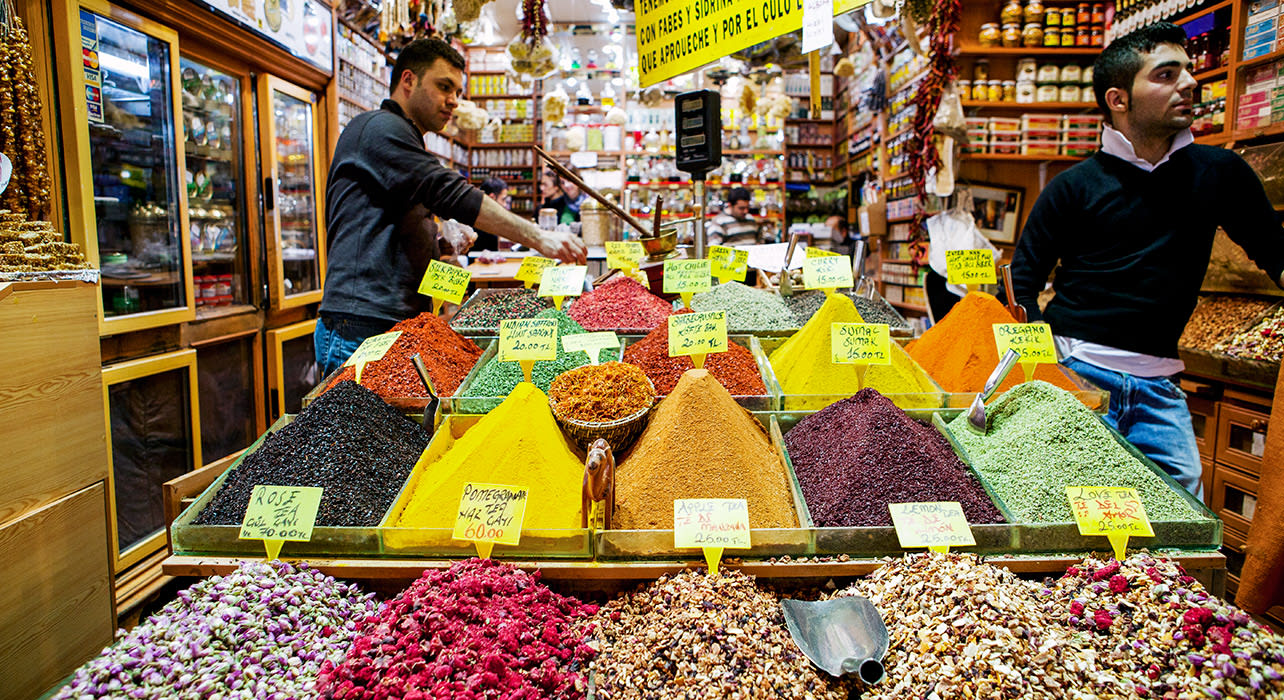 turkey istanbul spice market