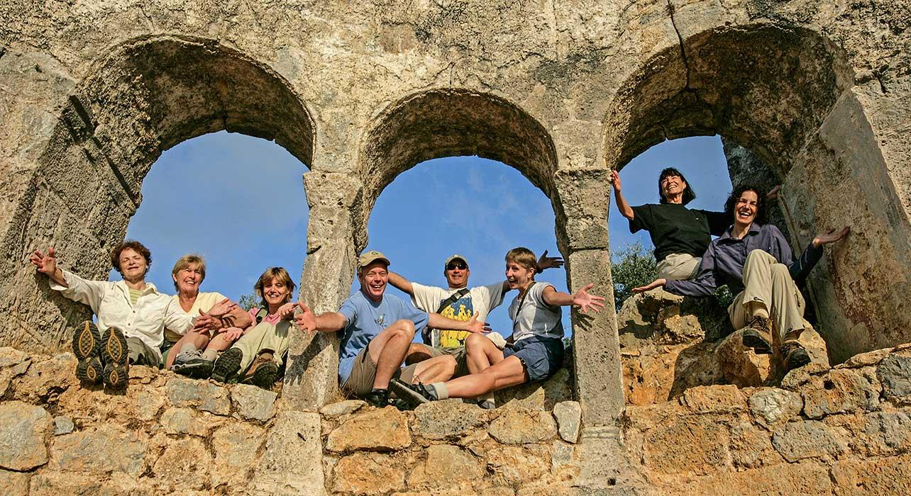 turkey group arch window ruins