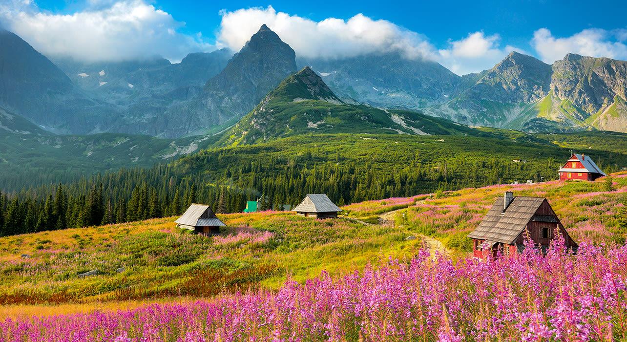 gascienicowa valley tatra mts poland