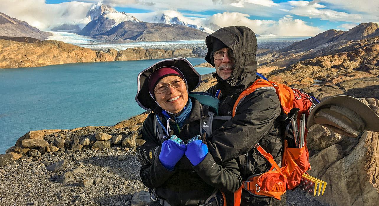 argentina upsala glacier hikers