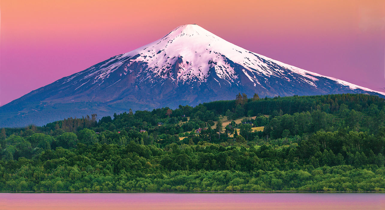 villarrica volcano bariloche argentina